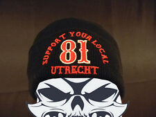 Hells Angels Utrecht Holland Support 81 Beanie
