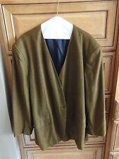 Jones New York Ladies Career Jacket Wool Black Gold Tweed 24W, NEW w/o TAGS!