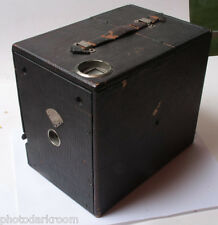 "4x5"" Wood Box Camera Working Shutter Lens Fits 122mm Wide x164mm Tall VINTAGE F1"