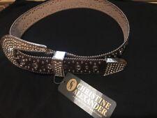 Christine Alexander Swarovski Belt Brand New Size M