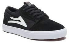 Lakai Shoes Griffin Kids Black White Suede USA SIZE Skateboard Sneakers