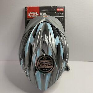 "BELL Turquoise / Grey Women's Bicycle Helmet ""Chloe"" (14 Plus) New"