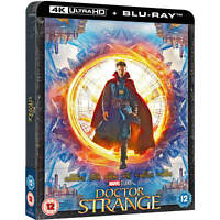 DOCTOR STRANGE 4K ULTRA HD STEELBOOK / REGION FREE / WORLDWIDE SHIPPING