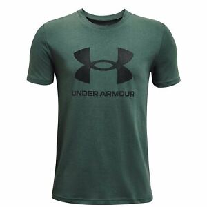 Under Armour Athletictyle Short Sleeve T Shirt Youngster Boys Crew Neck Tee Top