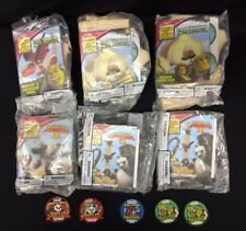 NOS Lot of 6 Lowes Build and Grow Kits Shrek, Kung-Fu Panda, with 5 patches