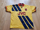 adidas Arsenal Away football shirt 1993 - 1994 Size 30-32 13-14 Years