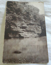 RPPC Postcard Turkey Run State Park Parke Co, Indiana Hawk's Nest VTG