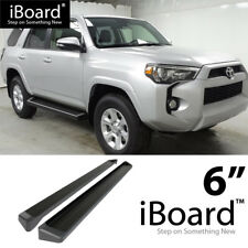 iBoard Black Running Boards Style Fit 14-18 Toyota 4Runner SR5/TRAIL