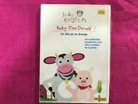 BABY EINSTEIN DVD BABY MACDONALD UN DIA EN LA GRANJA NEW A DAY ON THE FARM NEW