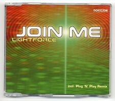Lightforce Maxi-CD Join Me - 4-track CD - HIM Ville Valo Dance COVER VERSION !!