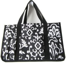 Thirty-one Utility Organizer mini tote hand bag keep it caddy in Black Parisian