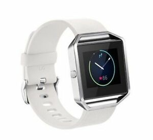 Replacement Silicone Wrist Band Strap Bracelet Fitbit Blaze Smart Watch SM LG