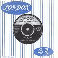Rosie & The Originals Give Me Love London HLU9266 Soul Northern Motown