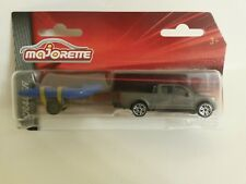 Ford F 150 + TRAILER + Boat Majorette DieCast Toy Car 1:72 *Air Mail*