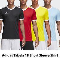Adidas Tabela 18 Jersey Shirts Mens Soccer Football Tee Training Top ALL COLORS