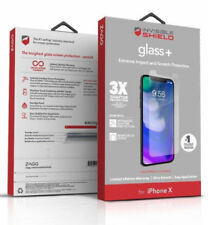 Zagg Invisibleshield Glass+ Glass Screen Protector For iPhone X 10 New Genuine