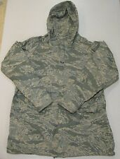 USAF Military Parka Jacket Coat Orc IRS Rain suit Air Force Camo Medium M EUC