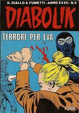 fumetto DIABOLIK ANNO XXXII numero 5
