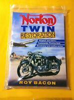 Norton Twin Restoration Manual By Roy Bacon, Dominators, Commando's Featherbed