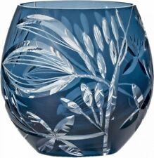 Edo Kiriko Cut Crystal Glass Tumbler Blue 350ml HG110-54BG 4906678179405