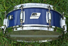 ADD this 80's LUDWIG ROCKER SERIES SNARE DRUM in BLUE to YOUR DRUM SET! #B192