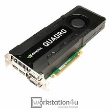 NVIDIA Quadro K5000 4GB GDDR5 DVI 2xDP 4K HD Grafikkarte PCI-E GDDR5 1536 Cores