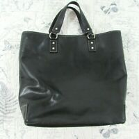 Kate Spade X-Large Black pebbled Leather Shopper Tote Satchel Handbag Office