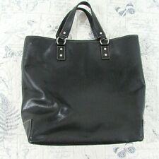 Kate Spade X-Large Black pebbled Leather Shopper Tote Satchel Handbag Office