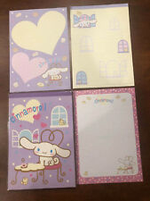 Sanrio - Cinnamoroll Notepad Note Sheets 90 sheets 3 designs - Brand New