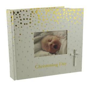 """BAMBINO CHRISTENING DAY GIFT PHOTO  ALBUM 4""""x6"""" HOLDS 50 PHOTOS"""