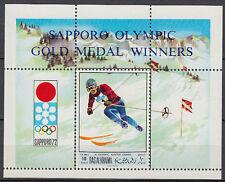 Ras al Khaima 1970 ** Bl.85 A Olympische Spiele Winter Olympic Games