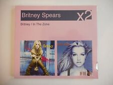 BRITNEY SPEARS (2 ALBUMS SET) : SLAVE 4 U / IN THE ZONE || CD NEUFS ! PORT 0€