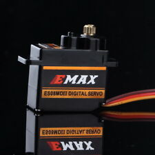 Original EMAX ES08MD II 12g/2.4g/0.08g High Speed Metal GEAR Digital Servo fr