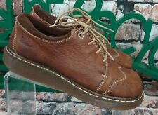 Dr. Martens Womens Tan Leather Wingtip Lace Up US 9 UK 7 Shoes (30-7)