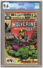 """What If? 31 (CGC 9.6) """"Death"""" of Hulk, Wolverine, and Magneto; X-Men (j#6605)"""