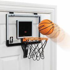 Majik Buzzer Beater Basketball; Pro-Style Backboard and Breakaway Rim Hangs on D