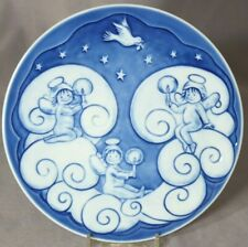 Royal Copenhagen 2009 Children's Christmas Plate – Blessed with Angels