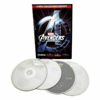 Avengers 1-4 (DVD Box Set) Complete Series 4-Movie Collection Include Endgame