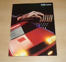Original 1987 Dodge Shelby Lancer Foldout Sales Brochure 87