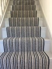 "BRAND NEW! Carpet Stair Runner With U/lay Pads And Gripper 22""Wide X 27ft Lenth."