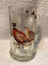 Vintage Schmidt's Beer Collector Series 1 Mug 5 V Pheasant
