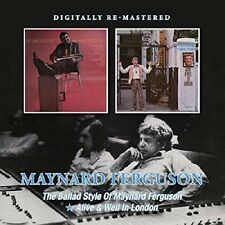 Maynard Ferguson The Ballad Style Of/Alive & Well In London CD NEW SEALED Jazz