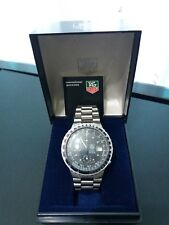 BOXED RARE EARLY TAG HEUER PILOT CHRONOGRAPH WITH PAPERS 1980s