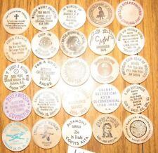 Lot of 25 Wooden Nickels - #32