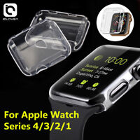 iWatch 40/44mm Clear TPU Screen Protector Case For Apple Watch Series 5/4/3/2/1