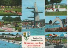 AK Braunau am Inn Stadtbad 1975 ( A 2975-19 )