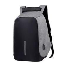 Men Anti-Thief Backpack Women Waterproof USB External Laptop Backpack Travel Bag