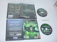 ENTER THE MATRIX & MATRIX: PATH OF NEO both games in cases for PLAYSTATION 2 PS2