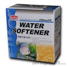 Aquarium Water Softener, 2 x 200g, Treatment For Discus, Tetras, Cichlids, Betta