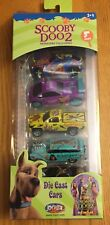 Joy Ride SCOOBY DOO 2 Monsters Unleashed 5 Pack Die Cast Cars 2004 New ERTL